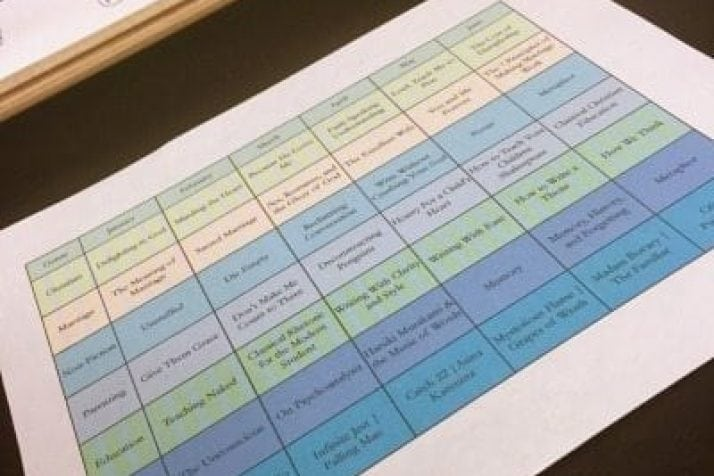 How to Keep a Super Nerdy Book Reading Schedule